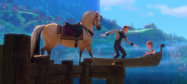 sitron cheval horse personnage character disney animation reine neiges frozen