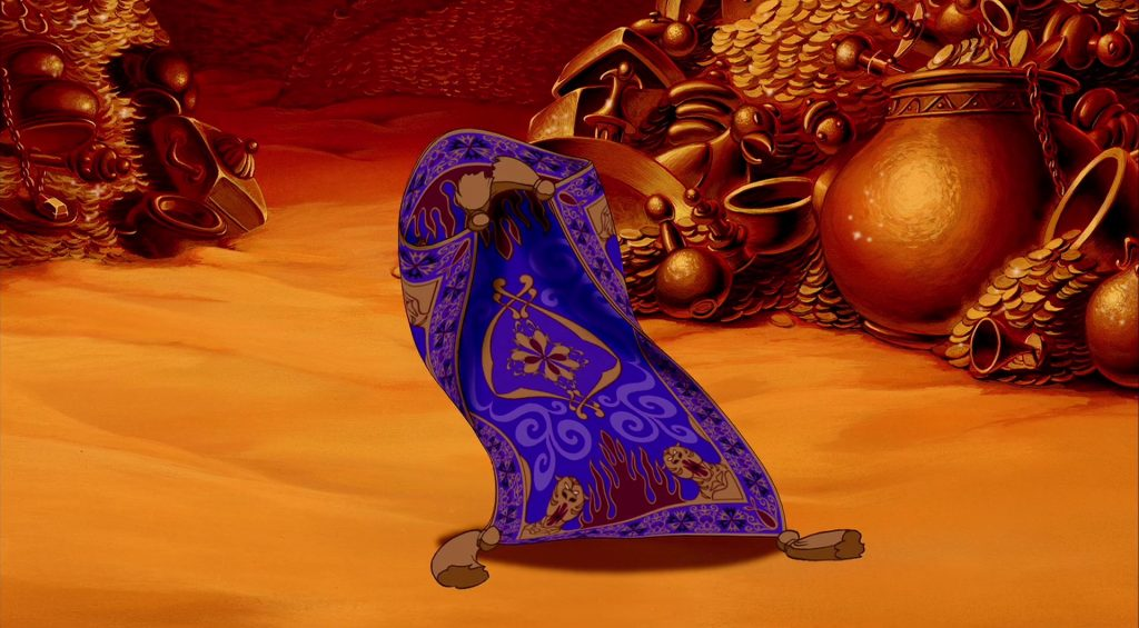 tapis volant magic carpet personnage character aladdin disney animation