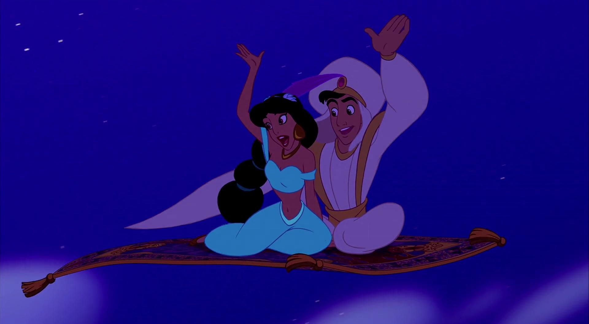 Tapis volant, personnage dans Aladdin Disney Planet
