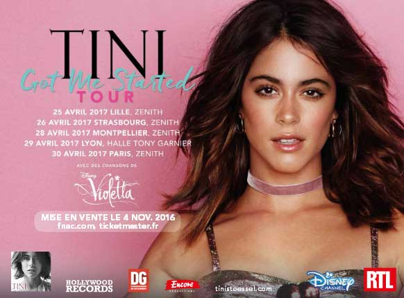 tini got me started tour album martina Stoessel violetta disney channel