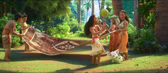 Disney clins d'oeil vaiana la legende du bout du monde
