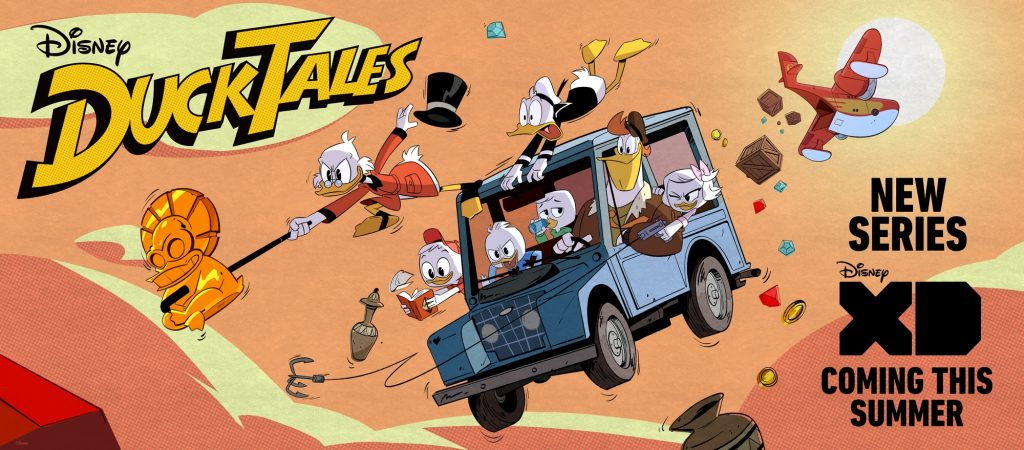 Disney XD Ducktales remake 2017v