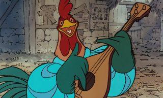 adam de la halle Alan-A-Dale personnage character disney robin bois hood