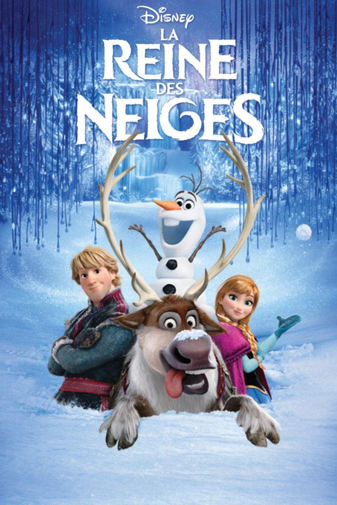 affiche poster la reine des neiges frozen disney animation
