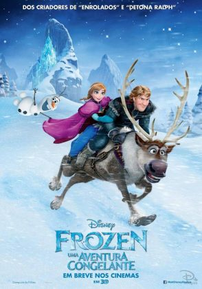 affiche poster la reine des neiges frozen disney animation