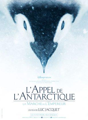 affiche poster l'empereur disneynature l'appel de l'antarctique