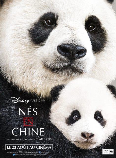 affiche ne chine born china poster disney disneynature