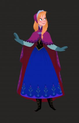 artwork la reine des neiges frozen disney animation