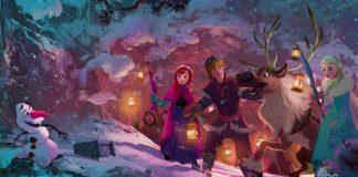 artwork olaf frozen adventure reine neige disney animation