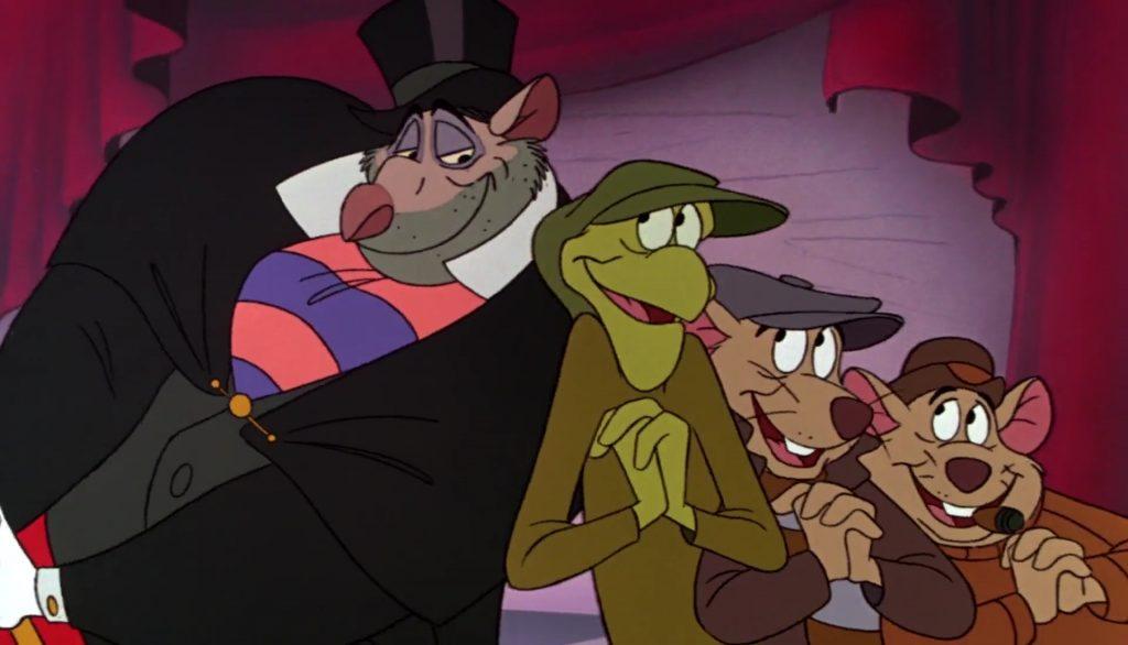 bill basil detective prive great mouse disney