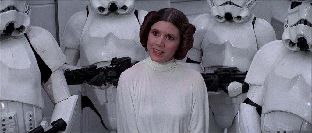 carrie fisher star wars disney lucasfilm princesse leia