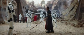 Chirrut Îmwe  personnage character star wars rogue one story