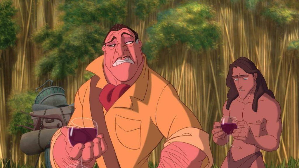 clayton personnage character tarzan disney animation