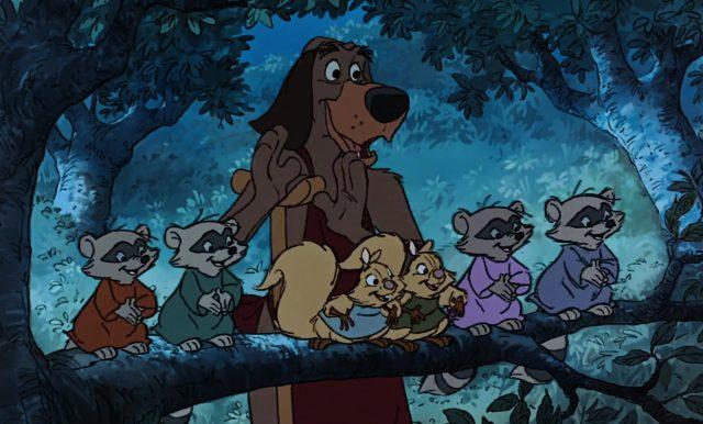 corniaud otto personnage character disney robin bois hood