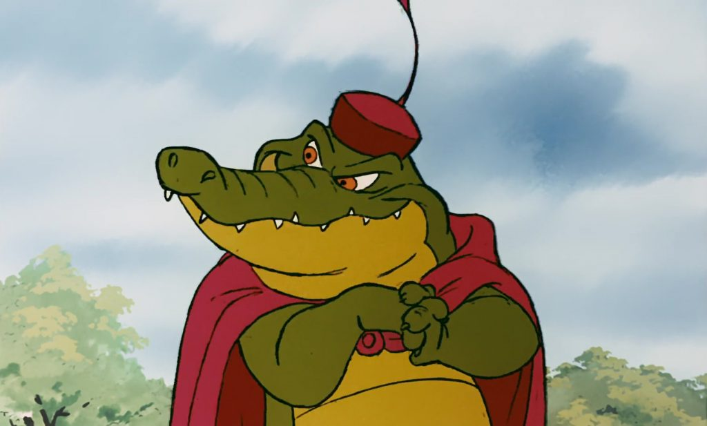 crocodile captain personnage character disney robin bois hood