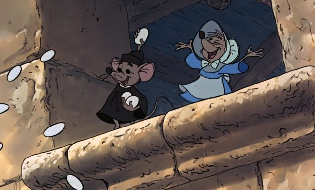 croquenote sexton mouse personnage character disney robin bois hood