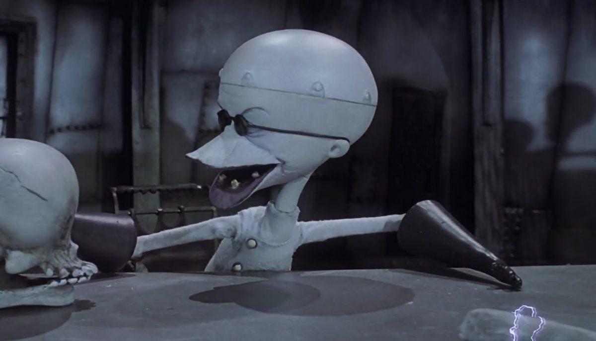 docteur finkelstein personnage character étrange noel monsieur jack nightmare before christmas disney