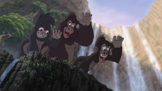 flynt mungo personnage character tarzan disney animation