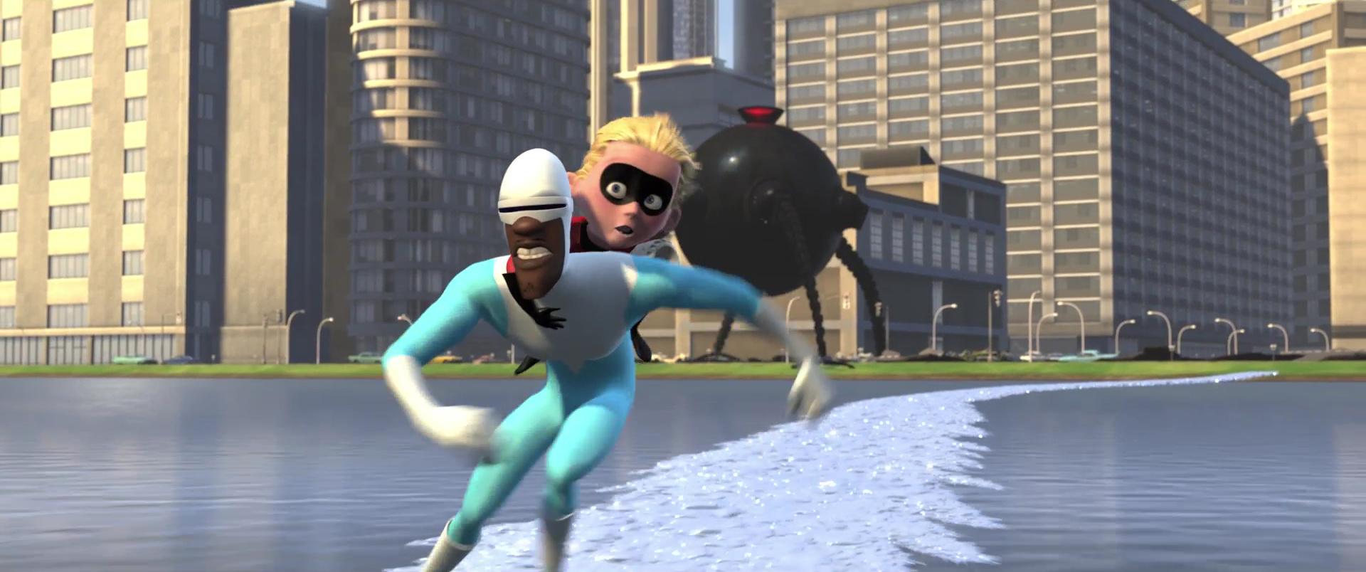 frozone indestructibles incredibles pixar disney