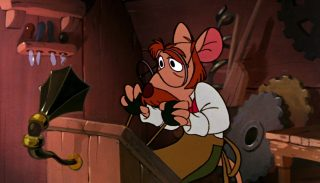 hiram flaversham basil detective prive great mouse disney