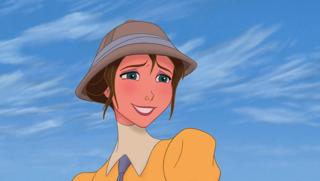 jane porter personnage character tarzan disney animation