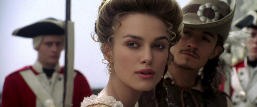 keira knightley elizabeth swann pirate caraibe carribean disney