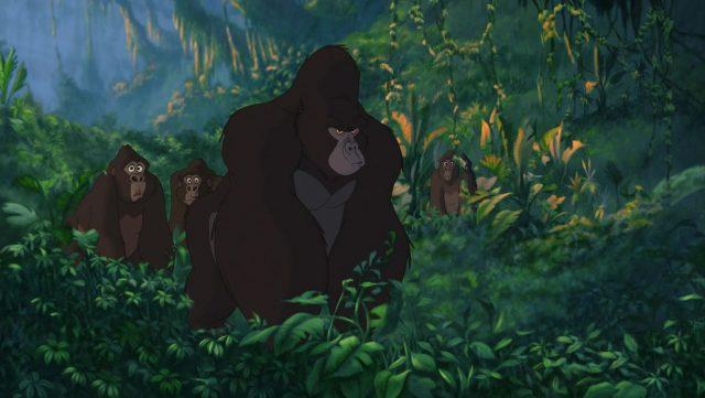 kerchak gorille personnage character tarzan disney animation