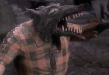 loup-garou wolfman personnage character étrange noel monsieur jack nightmare before christmas disney