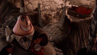 maire mayor personnage character étrange noel monsieur jack nightmare before christmas disney