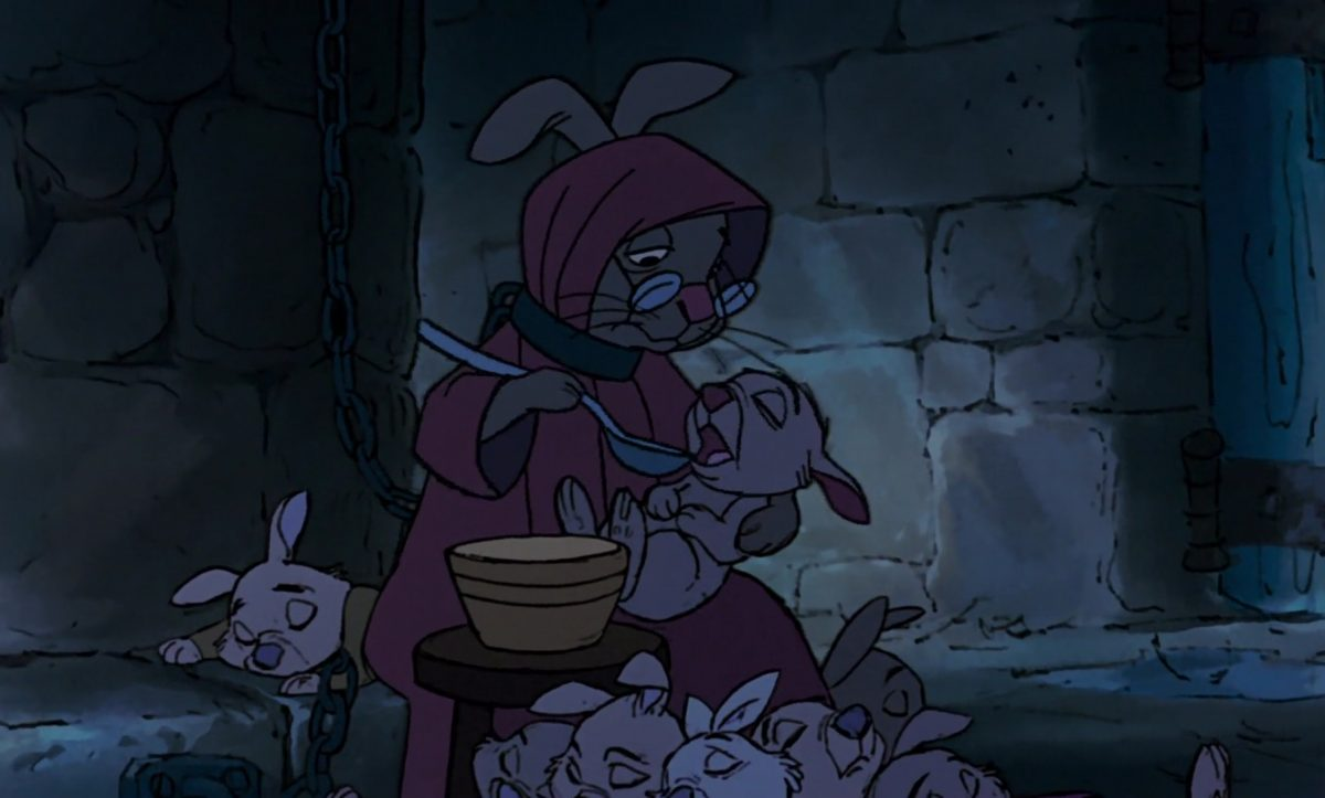mère bobby mother rabbit personnage character disney robin bois hood