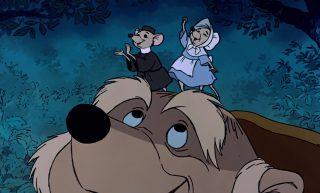 mère souris little sister personnage character disney robin bois hood