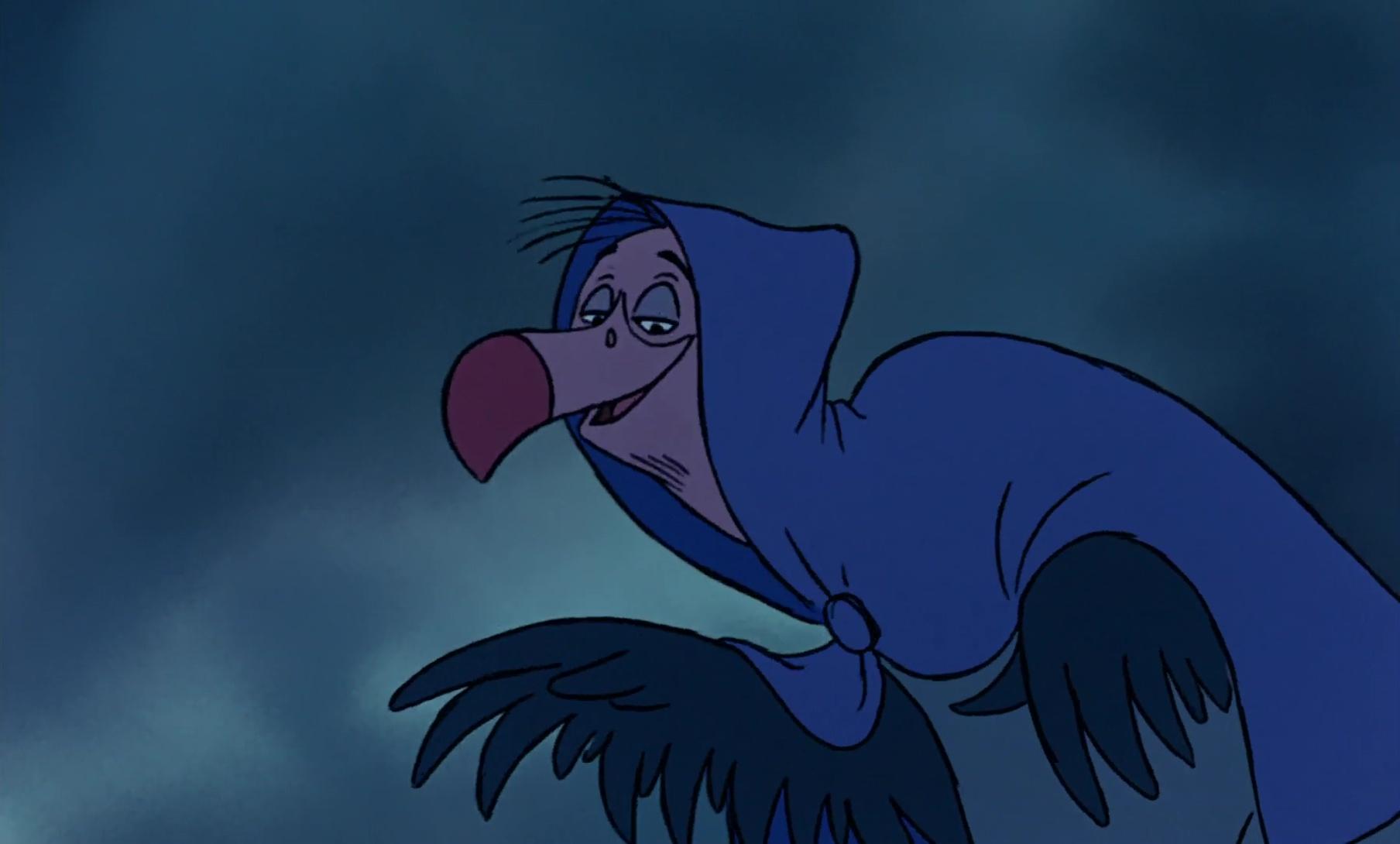 Niquedouille, personnage dans « Robin des Bois »  Disney