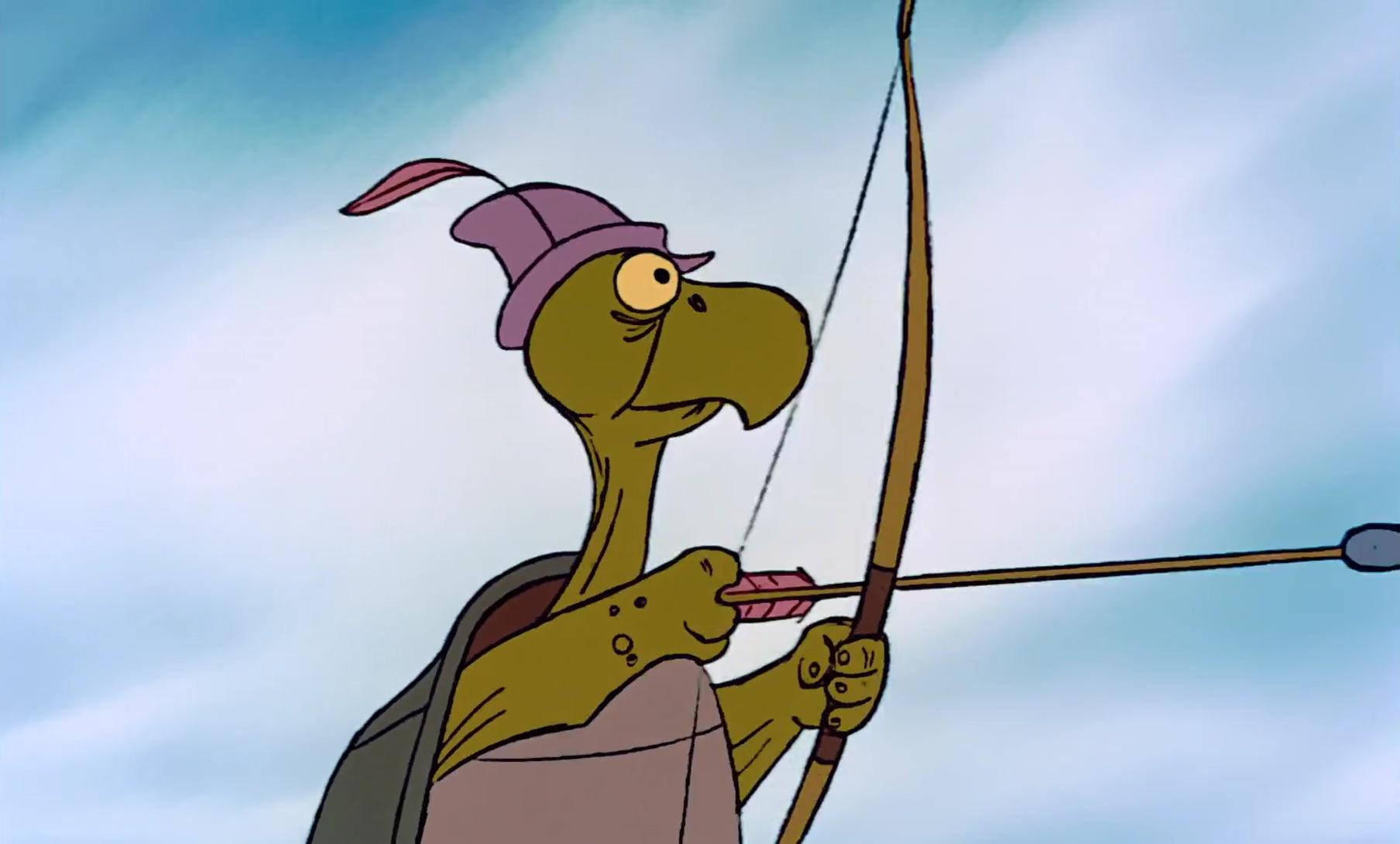 Père de Toby, personnage dans « Robin des Bois »  Disney  ~ Image Robin Des Bois Disney
