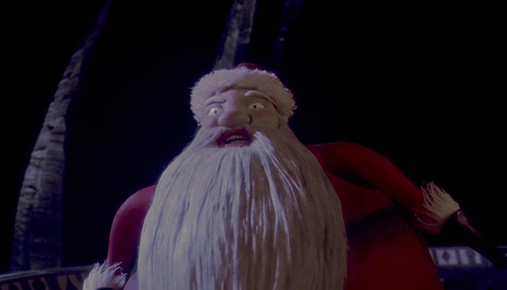 père noël santa claus personnage character étrange noel monsieur jack nightmare before christmas disney