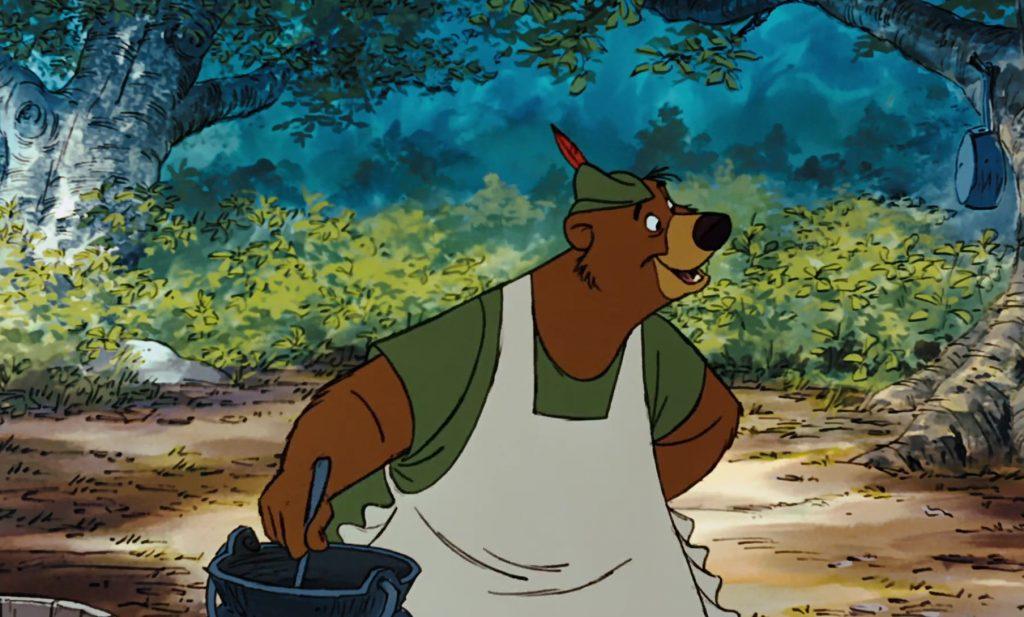 petit jean little john personnage character disney robin bois hood