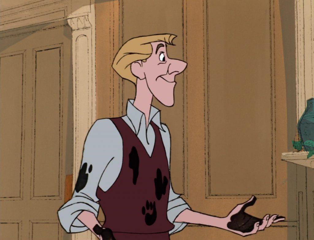 roger radcliffe personnage character 101 dalmatiens dalmatians disney animation