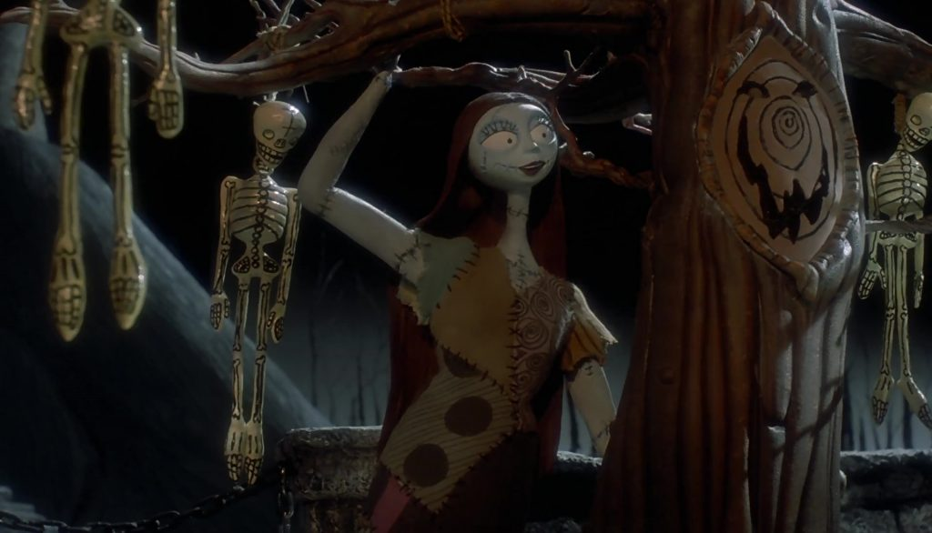 sally personnage character étrange noel monsieur jack nightmare before christmas disney