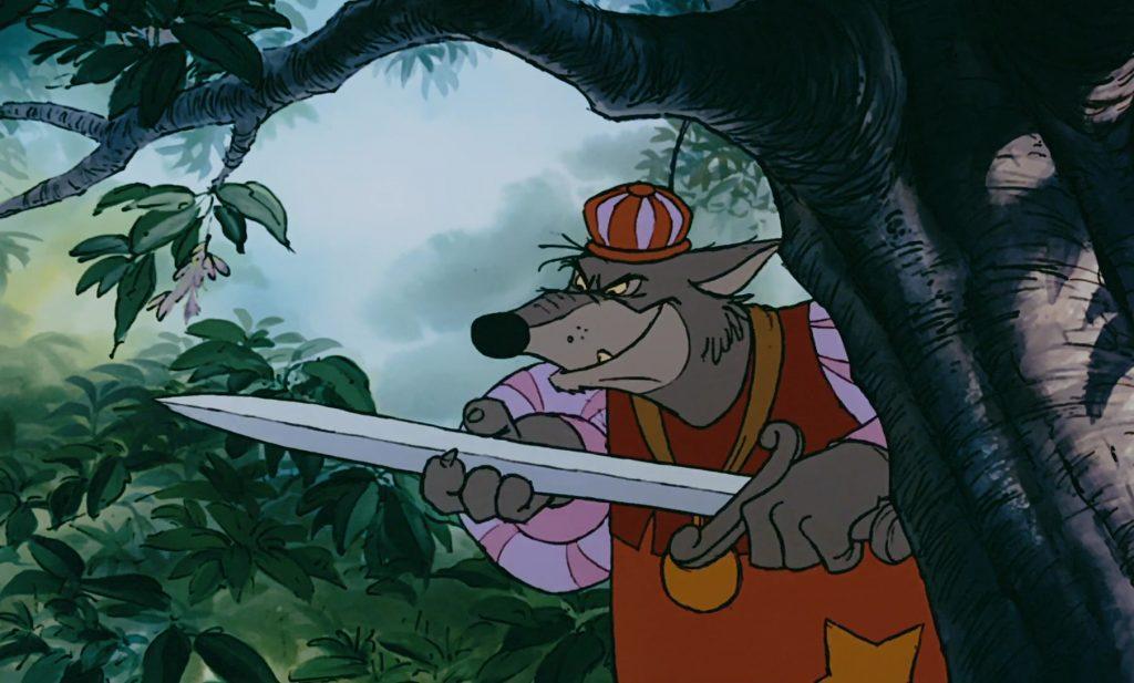 sherif nottingham personnage character disney robin bois hood