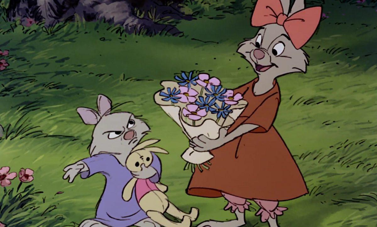 sis bunny personnage character disney robin bois hood