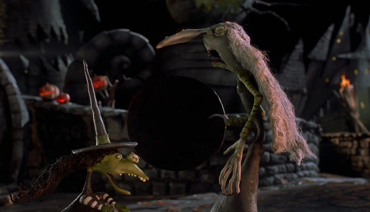 sorciere wolfman personnage character étrange noel monsieur jack nightmare before christmas disney