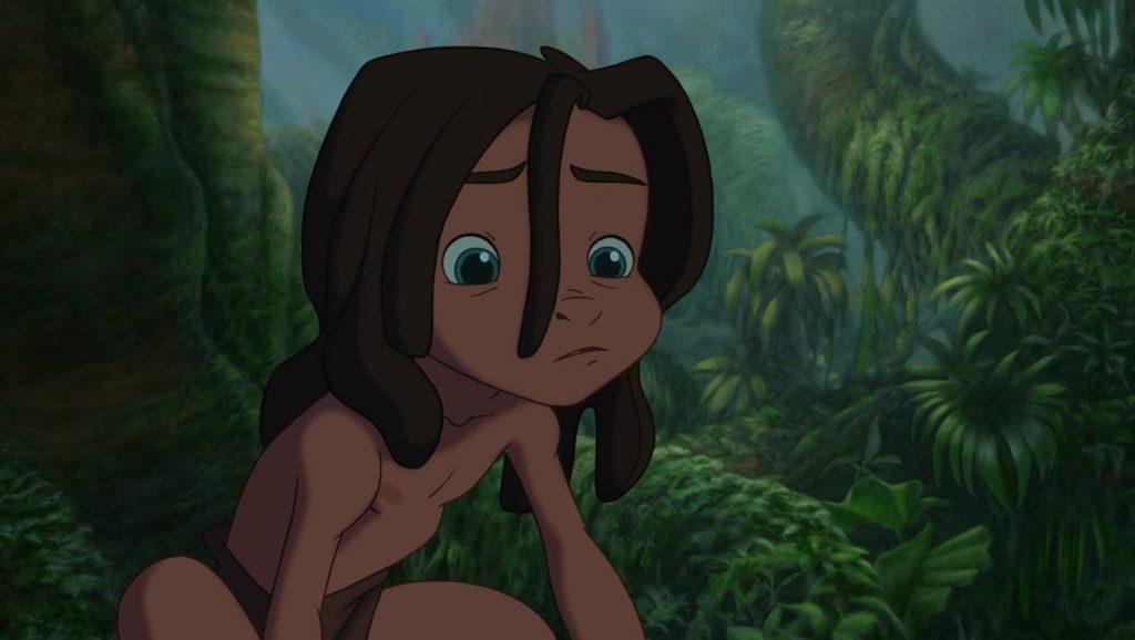 personnage character tarzan disney animation