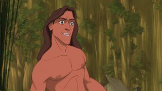 personnage character tarzan disney animation