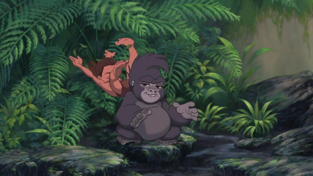 tok terk gorille personnage character tarzan disney animation