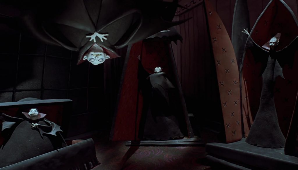 vampire personnage character étrange noel monsieur jack nightmare before christmas disney