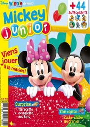 Actualité Mickey Junior magazine Disney