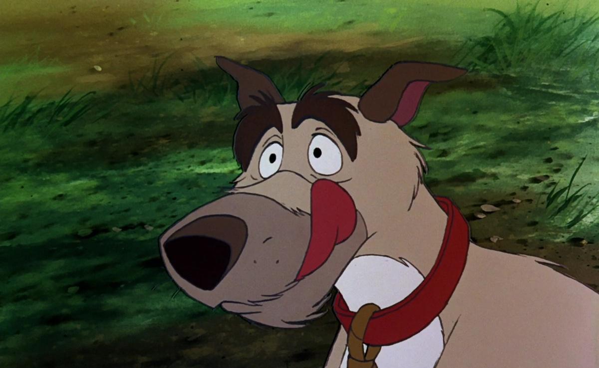 Chef personnage Rox et Rouky Disney