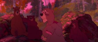 Disney Maple personnage frere des ours character brother bear