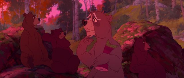Disney Maple personnage freres des ours