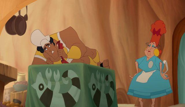 mata la serveuse personnage dans Kuzco L'empereur Megalo Disney