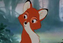 Vixy personnage Rox et Rouky Disney